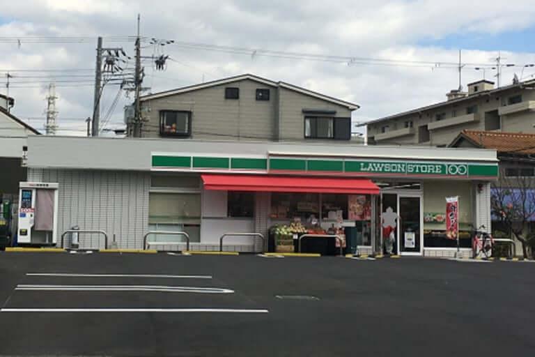 【尼崎市】コンビニが閉店してしばらく、またまたコンビニが出来ています。人手不足のニュースが騒がれていますが、こちらも24時間営業!!お世話になります。ありがとうございます。