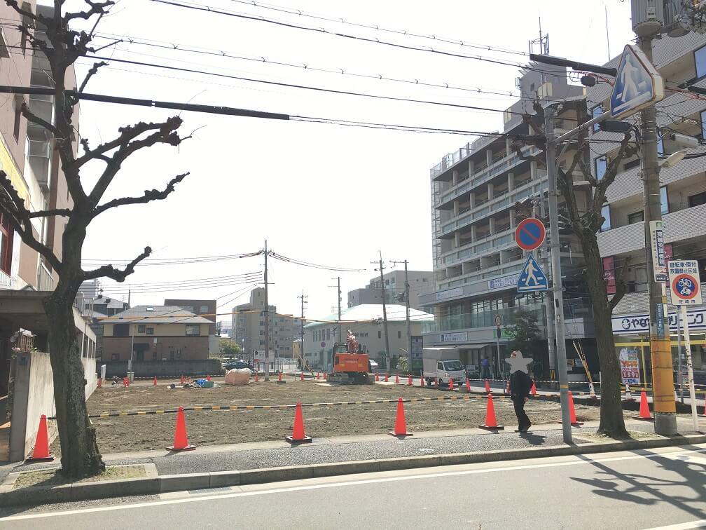 武庫之荘駅前工事2