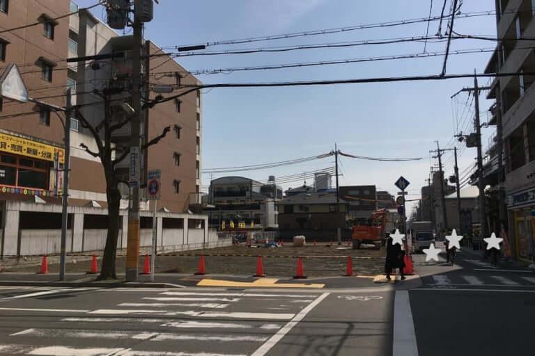 武庫之荘駅前工事